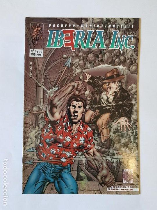 IBERIA INC. NUMERO 4 (Tebeos y Comics - Planeta)