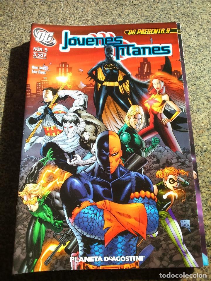 -- JOVENES TITANES Nº 5 -- DC : PRESENTA Nº 9 -- DC / PLANETA -- (Tebeos y Comics - Planeta)