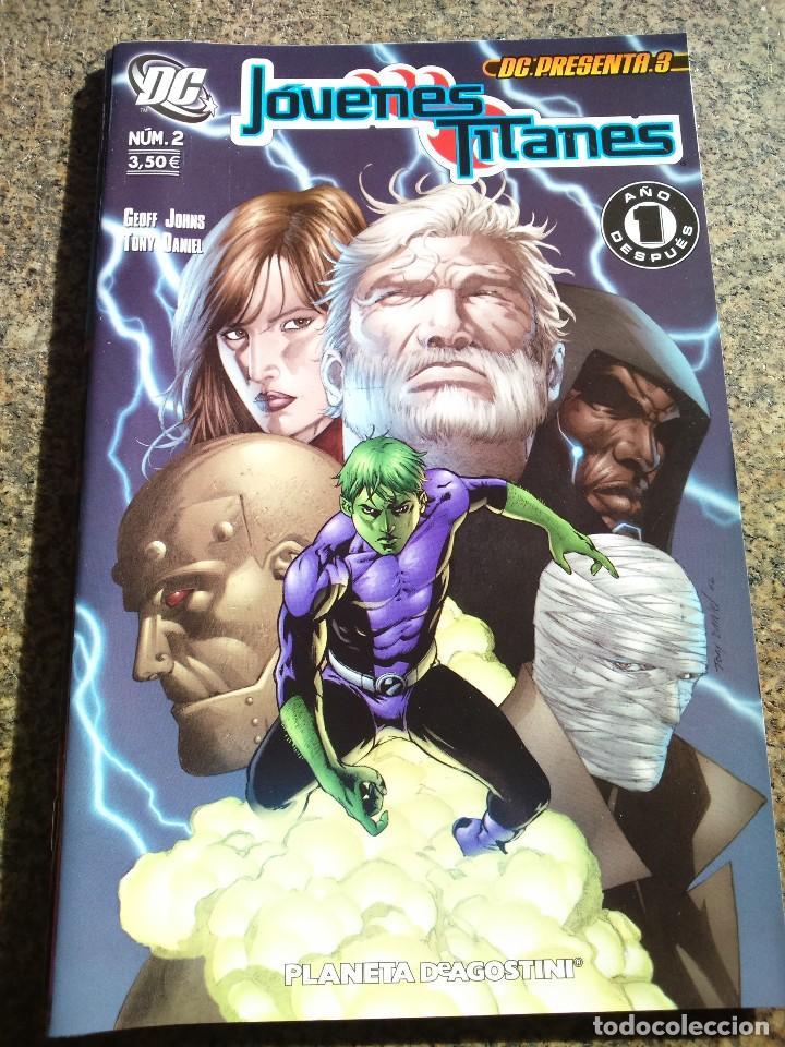 JOVENES TITANES Nº 2 -- DC : PRESENTA Nº 3 -- DC / PLANETA -- (Tebeos y Comics - Planeta)