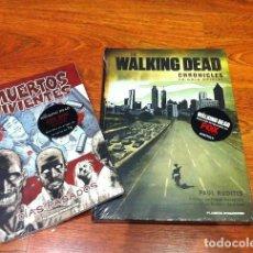 Cómics: THE WALKING DEAD CHRONICLES, GUIA OFICIAL + REGALO COMIC LOS MUERTOS VIVIENTES DIAS PASADOS. Lote 112238123