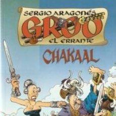 Cómics: GROO EL ERRANTE CHAKAAL - PLANETA - IMPECABLE. Lote 112752063