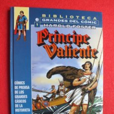 Cómics: BIBLIOTECA COMIC Nº1, PRINCIPE VALIENTE, TAPA DURA, EDITORIAL PLANETA. Lote 112989655