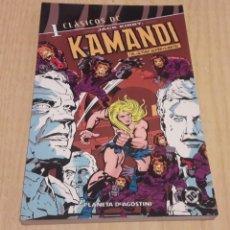 Cómics: KAMANDI. EL ULTIMO SUPERVIVIENTE. TOMO 1. JACK KIRBY.. Lote 113491123