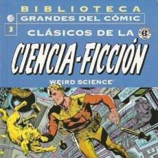 Cómics: BIBLIOTECA GRANDES DEL COMIC CLASICOS DE LA CIENCIA FICCION Nº 3 - PLANETA - IMPECABLE - C03. Lote 113565859