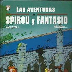 Cómics: LAS AVENTURAS DE SPIROU Y FANTASIO DE FOURNIER, VOLUMEN 1, 2009, PLANETA DEAGOSTINI, BUEN ESTADO. Lote 113709835