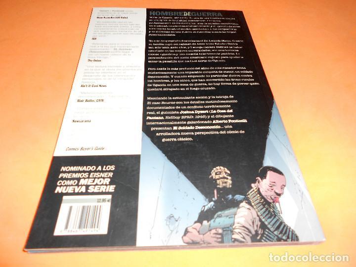 Cómics: EL SOLDADO DESCONOCIDO. JOSHUA DYSART. CUATRO TOMOS IMPECABLES. MAS REGALO DE LA OBRA DE GARTH ENNIS - Foto 6 - 113794991