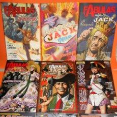 Cómics: FABULAS PRESENTA : JACK ¡ COMPLETA 9 TOMOS ! BILL WILLINGHAM / VERTIGO PLANETA. IMPECABLES.. Lote 113923579