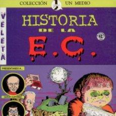 Cómics: HISTORIA DE LA EC COMICS. MAGNIFICO ENSAYO SOBRE LA MITICA EDITORIAL DE COMICS. Lote 179384615