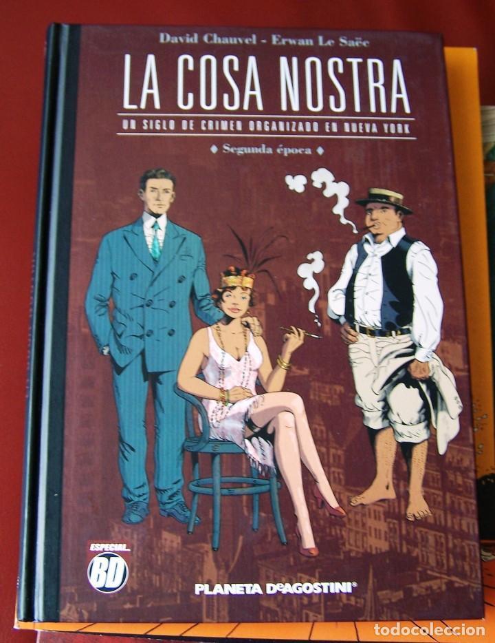 LA COSA NOSTRA - SEGUNDA ÉPOCA (CHAUVEL - LE SAËE) (PLANETA) (Tebeos y Comics - Planeta)