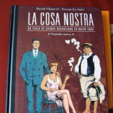 Cómics: LA COSA NOSTRA - SEGUNDA ÉPOCA (CHAUVEL - LE SAËE) (PLANETA). Lote 147973036