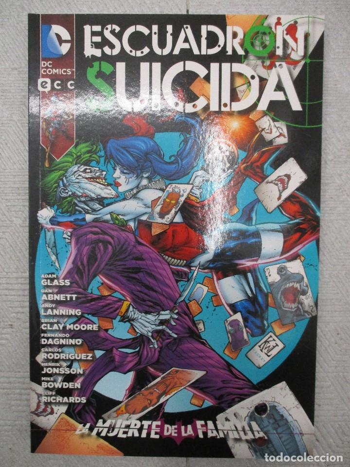 LA MUERTE DE LA FAMILIA ESCUADRON SUICIDA INTEGRAL D.C COMIC -ECC (Tebeos y Comics - Planeta)