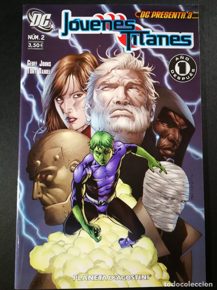 ORIGINAL DC PRESENTA 3 JOVENES TITANES Nº 2, PLANETA DE AGOSTINI (Tebeos y Comics - Planeta)