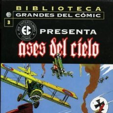 Cómics: BIBLIOTECA GRANDES DEL COMIC EC PRESENTA Nº 3 ASES DEL CIELO - PLANETA - MUY BUEN ESTADO. Lote 161334205