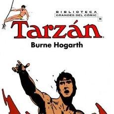 Cómics: BIBLIOTECA GRANDES DEL COMIC TARZAN BURNE HOGARTH Nº 14 - PLANETA - CARTONE - IMPECABLE - C08. Lote 115284907