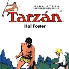Cómics: BIBLIOTECA GRANDES DEL COMIC TARZAN HAL FOSTER Nº 4 - PLANETA - CARTONE - IMPECABLE - C08. Lote 115285235