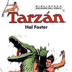 Cómics: BIBLIOTECA GRANDES DEL COMIC TARZAN HAL FOSTER Nº 3 - PLANETA - CARTONE - IMPECABLE - C08. Lote 115285547