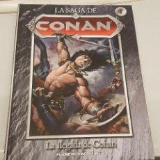 Cómics - LA SAGA DE CONAN Nº 1 - LA LEGADA DE CONAN / PLANETA - 116438163