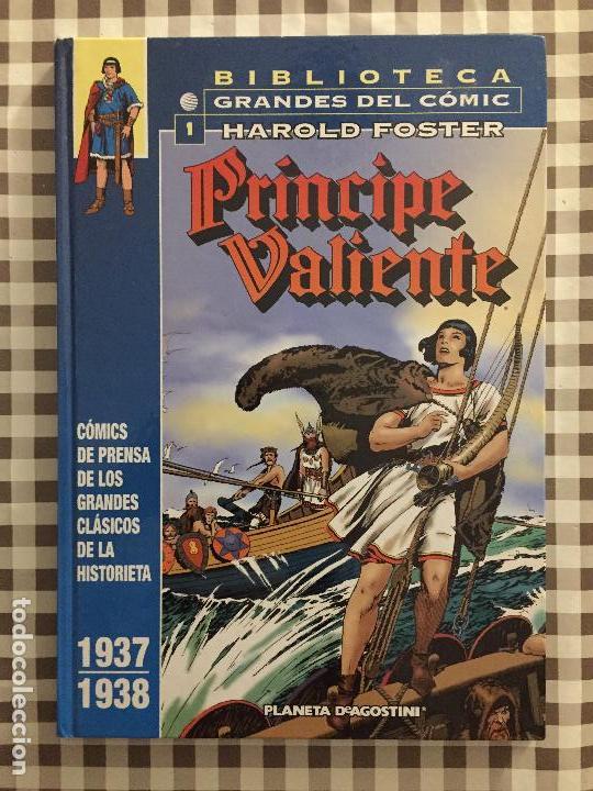 PRINCIPE VALIENTE, TOMO 1, 1937-1938. BIBLIOTECA GRANDES DEL COMIC, HAROLD FOSTER (Tebeos y Comics - Planeta)