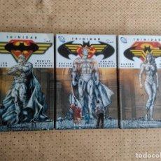 Cómics: TRINIDAD COMPLETA. TOMO 1 BATMAN, TOMO 2 SUPERMAN, TOMO 3 WONDER WOMAN. BUSIEK Y NICIEZA.. Lote 117269107