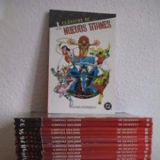 Cómics: LOS NUEVOS TITANES PLANETA, LOTE 20 COMICS, GEORGE PEREZ ¡¡¡¡¡COMO NUEVOS!!!!!. Lote 118029219