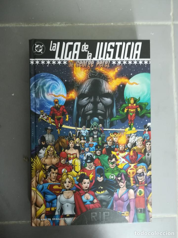 LIGA DE LA JUSTICIA DE GEORGE PEREZ (Tebeos y Comics - Planeta)