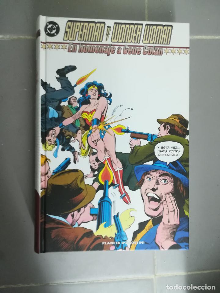 SUPERMAN WONDER WOMAN HOMENAJE A GENE COLAN (Tebeos y Comics - Planeta)