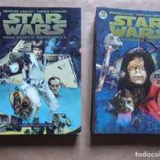 Star Wars - Biblioteca manga - 1 a 12 completa - George Lucas - Planeta - JMV