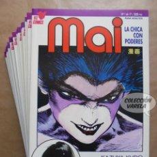 Cómics: MAI - LA CHICA CON PODERES - 1 A 17 COMPLETA - PLANETA - JMV. Lote 118266747