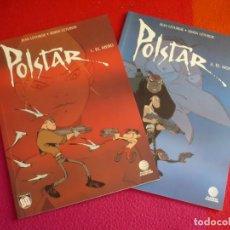 Cómics: POLSTAR 1 Y 2 EL MERO + EL MONKEY ( JEAN Y SIMON LETURGIE ) ¡MUY BUEN ESTADO! PLANETA COLECCION BD. Lote 118614159