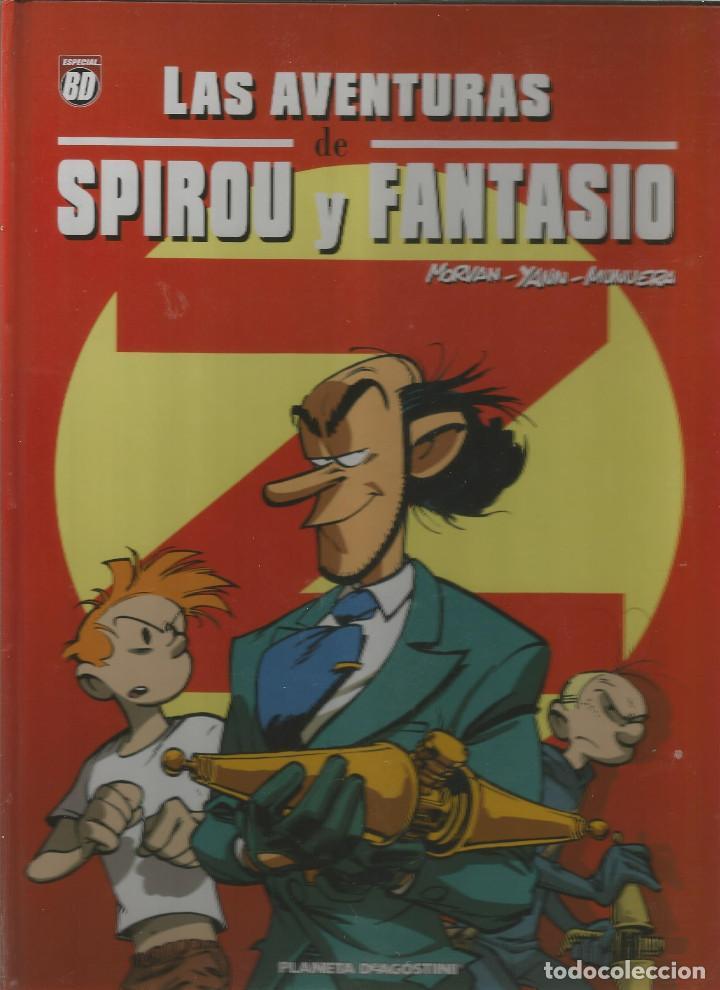 LAS AVENTURAS DE SPIROU Y FANTASIO Nº 3 PLANETA DEAGOSTINI (Tebeos y Comics - Planeta)