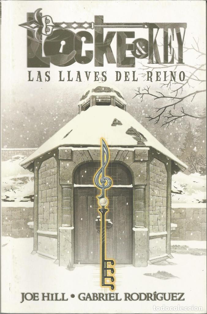 LOCKE & KEY LAS LLAVES DEL REINO 4 PANINI COMICS (Tebeos y Comics - Planeta)