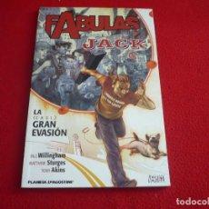 Cómics: JACK LA GRAN EVASION FABULAS PRESENTA ( BILL WILLINGHAM STURGES) ¡MUY BUEN ESTADO! VERTIGO PLANETA. Lote 119360627