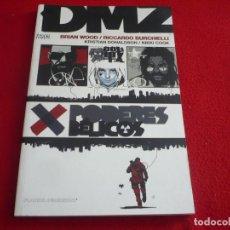 Cómics: DMZ PODERES BELICOS ( BRIAN WOOD RICCARDO BURCHIELLI ) ¡MUY BUEN ESTADO! PLANETA VERTIGO 2009. Lote 119360839