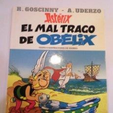 Cómics: ASTERIX - EL MAL TRAGO DE OBELIX - PLANETA - CARTONÉ / PAPEL SATIN - QUINTA EDICION 1996. Lote 119373771
