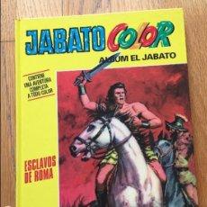 Cómics: JABATO COLOR, ESCLAVOS DE ROMA PLANETA DE AGOSTINI. Lote 119442363