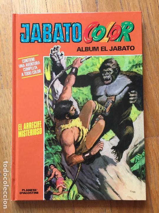 JABATO COLOR, EL ARRECIFE MISTERIOSO, PLANETA DE AGOSTINI (Tebeos y Comics - Planeta)