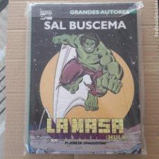 Cómics: SAL BUSCEMA LA MASA HULK GRANDES AUTORES MARVEL CÓMICS TAPA DURA. Lote 119528482