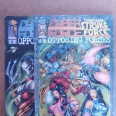 Cómics: CYBER FORCE CODENAME STRYKE FORCE OPPOSING FORCES COMPLETA 1 Y 2 - PLANETA - C19 - OFM15. Lote 119200955