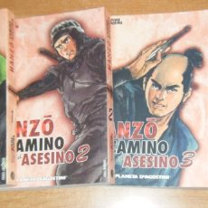 Cómics: HANZO EL CAMINO DEL ASESINO 4 TOMOS EDICION COMPLETA. Lote 163806596