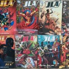 Cómics: JLA 1,2,3,4,5,6,7,8,9,12,20,24. Lote 120231427