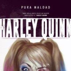 Cómics: PURA MALDAD: HARLEY QUINN. (20% DESCUENTO). Lote 120807915
