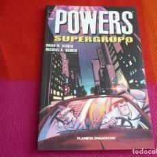 Cómics: POWERS SUPERGRUPO ( BENDIS OEMING ) PLANETA IMAGE. Lote 121145119