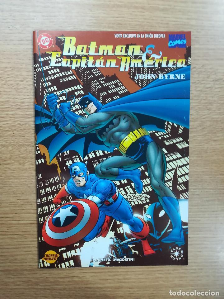 BATMAN CAPITAN AMERICA (Tebeos y Comics - Planeta)