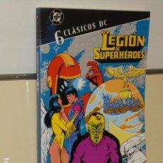 Comics: CLASICOS DC LEGION DE SUPERHEROES Nº 6 - PLANETA. Lote 131898607