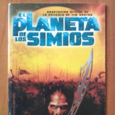 Cómics: EL PLANETA DE LOS SIMIOS - ADAPTACIÓN OFICIAL DE LA PELÍCULANDE TIM BURTON. Lote 121993835