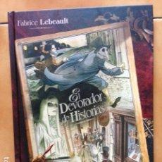 Cómics: EL DEVORADOR DE HISTORIAS POR FABRICE LEBEAULT - PLANETA DEAGOSTINI. Lote 121995939