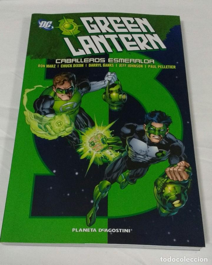 GREEN LANTERN , CABALLEROS ESMERALDA (Tebeos y Comics - Planeta)