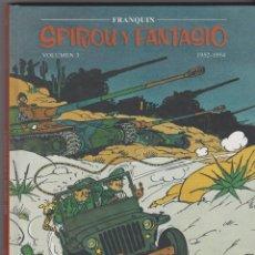 Cómics: VOLUMEN 3 -- SPIROU Y FANTASIO-- FRANQUIN 1952-1954 . Lote 122257019