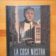 Cómics: LA COSA NOSTRA - LA LOCURA DEL HOLANDES - DAVID CHAUVEL - ERWAN LE SAEC - PLANETA - TAPA DURA (BÑ). Lote 122459039