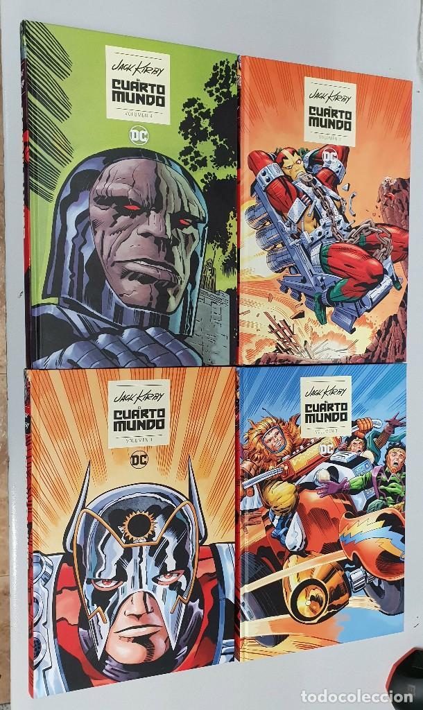 el cuarto mundo de jack kirby ¡ completa 4 tomo - Kaufen Alte Comics ...
